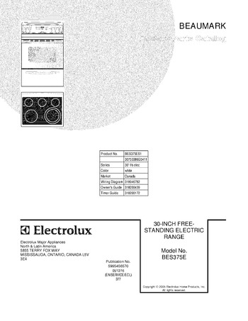 Diagram for BES375ES1