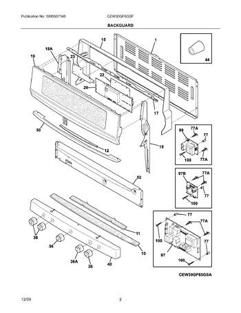 Diagram for CEW30GF6GSF