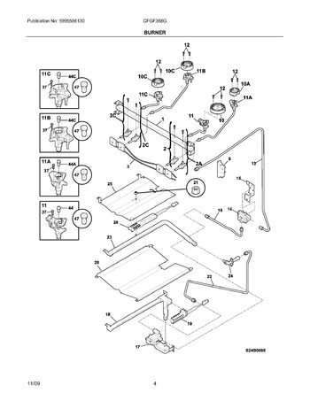 Diagram for CFGF368GSG