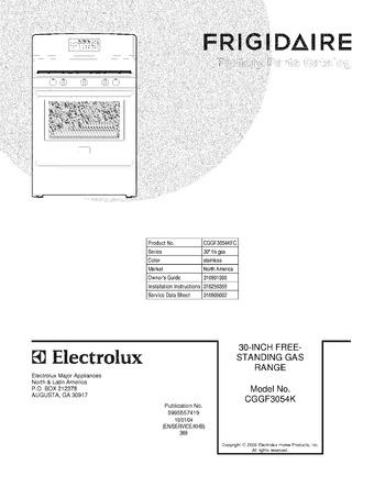 Diagram for CGGF3054KFC