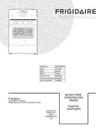 Diagram for CGGF3054KFG