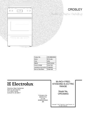 Diagram for CRE3580GWWA