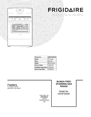 Diagram for DGGF3042KFG
