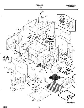 Diagram for FCS388WHCD