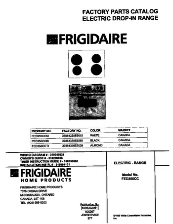 Diagram for FED355CCBI