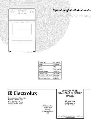 Diagram for FEF339ESB