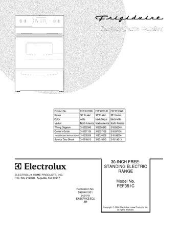 Diagram for FEF351CWB
