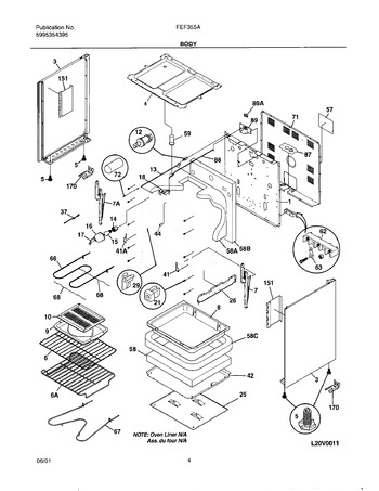 Diagram for FEF355ASA