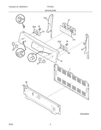 Diagram for FEF355DSD