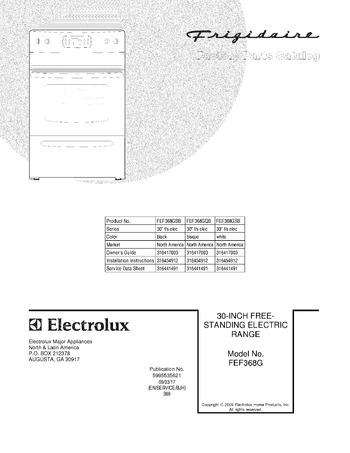 Diagram for FEF368GSB