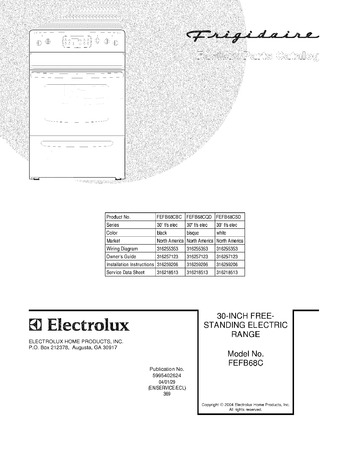 Diagram for FEFB68CSD