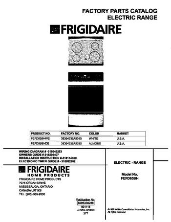 Diagram for FEFD65BHWE