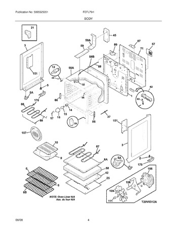 Diagram for FEFL79HSB