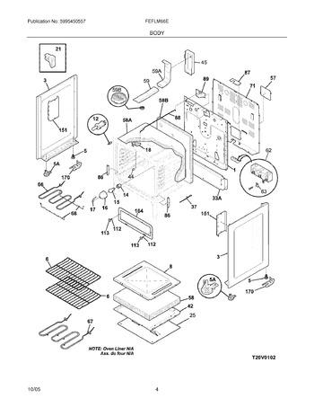 Diagram for FEFLM66ESB