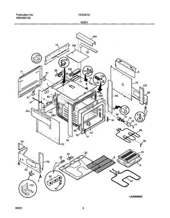 Diagram for FES367DSA