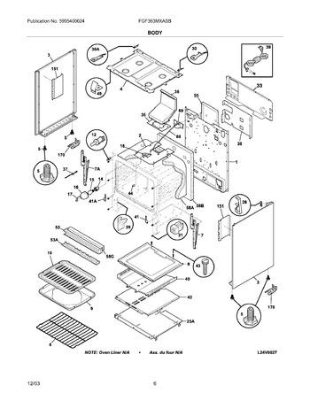 Diagram for FGF363MXASB