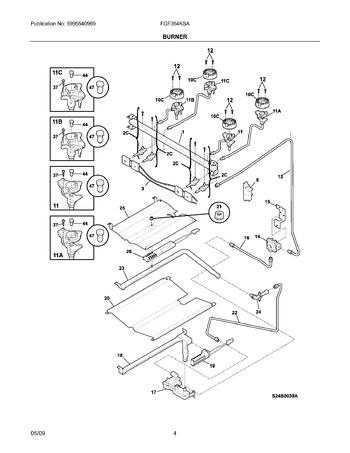 Diagram for FGF364KSA