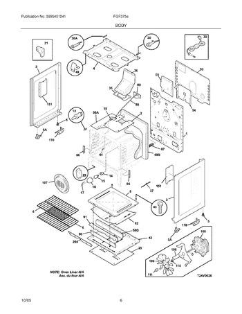 Diagram for FGF375ESB