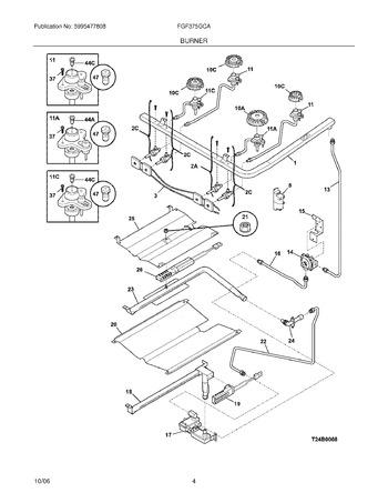 Diagram for FGF375GCA