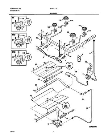 Diagram for FGFL77ASB