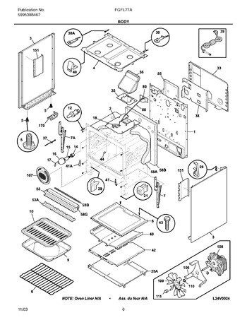 Diagram for FGFL77ASF