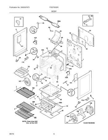 Diagram for FGGF3032KBC
