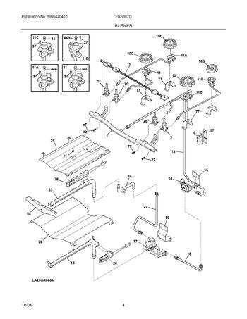 Diagram for FGS367DSA