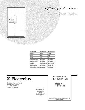 FRS6HR4HW1 Ice Maker For Model Number Frs Hr Hw Refrigerator Wiring Diagram on