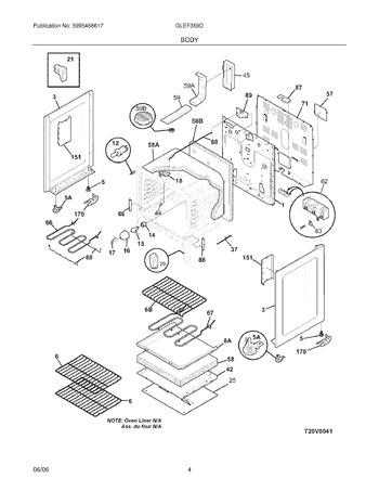 Diagram for GLEF369DSH
