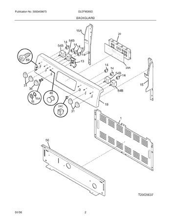 Diagram for GLEFM385DSF