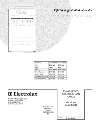 Diagram for GLGFS86DSC