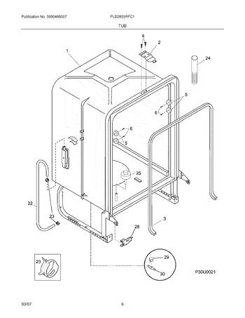 PLD2855RFC1 | Appliance Parts HQ on