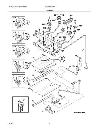 Diagram for DGGF3042KFR