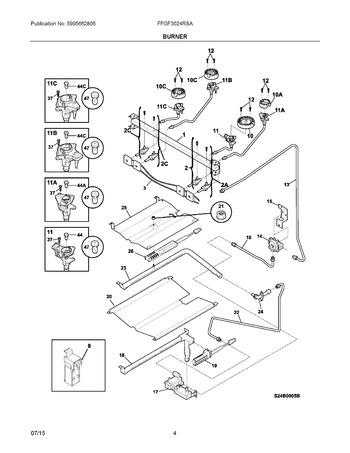 Diagram for FFGF3024RSA