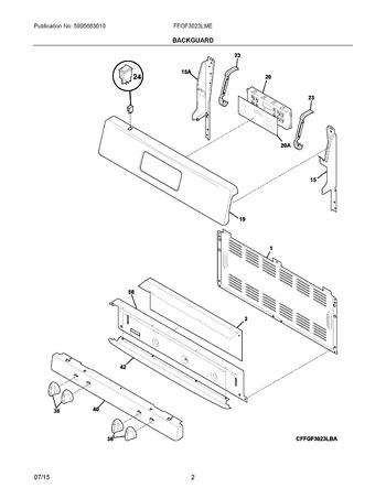 Diagram for FFGF3023LME