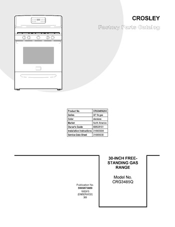 Diagram for CRG3485QSC