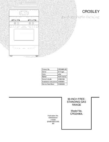 Diagram for CRG3480LWE