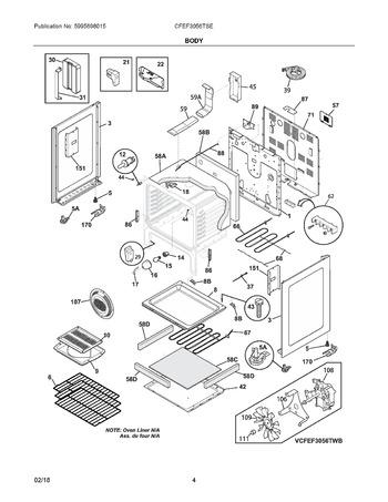 Diagram for CFEF3056TSE