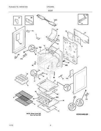 Diagram for CRG3480LWD