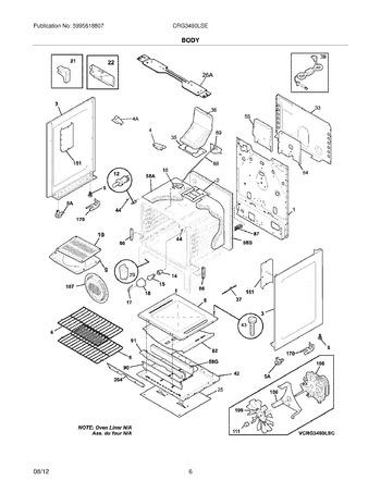 Diagram for CRG3490LSE