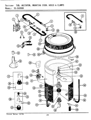 A Maytag Washer Schematic Diagram on