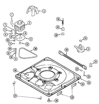 Maytag Whirlpool Washer Softener Dispenser Agitator Cap 22003985