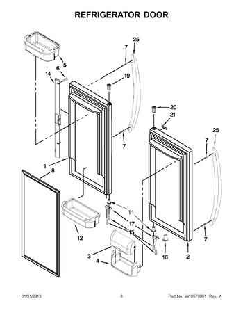 diagram of black water tank