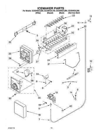 diagram for gc5shgxls00