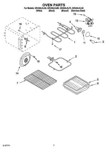 Diagram for GR450LXLT0