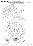 Diagram for 01 - Cooktop