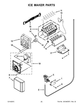 ice maker parts ksc24c8eyy02 appliance parts hq