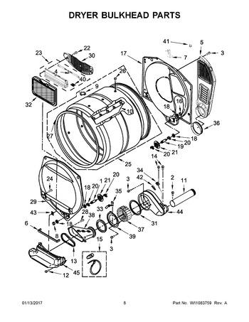 wgt4027ew1 appliance parts hq GE Profile Dryer Wiring Diagram diagram for wgt4027ew1