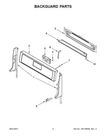 Whirlpool Gas Range LP Orifice Conversion Kit WFG320M0BS3