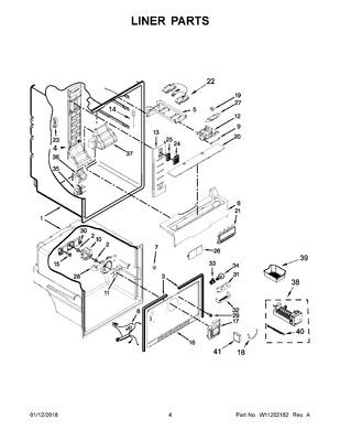 New Genuine OEM Whirlpool Refrigerator Door Switch 12002646